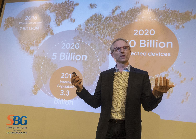 Thierry Geerts, directeur de Google Belgique.