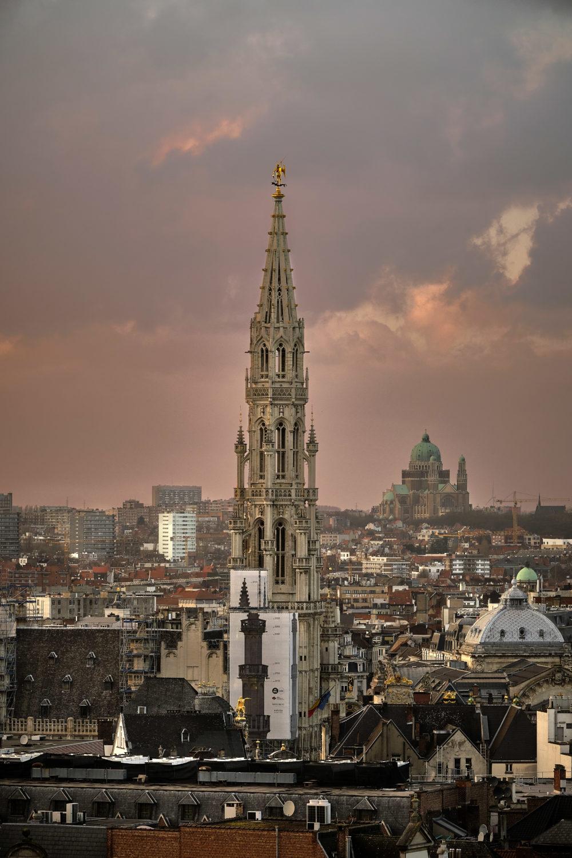 Photographie de la Flèche de la Grand Place de Bruxelles