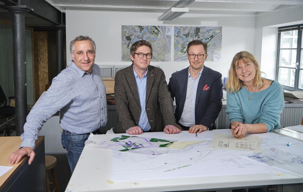 Photo de l'équipe des architectes de Bruxelles