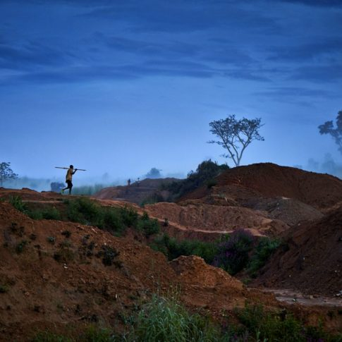 reportage diamant en angola