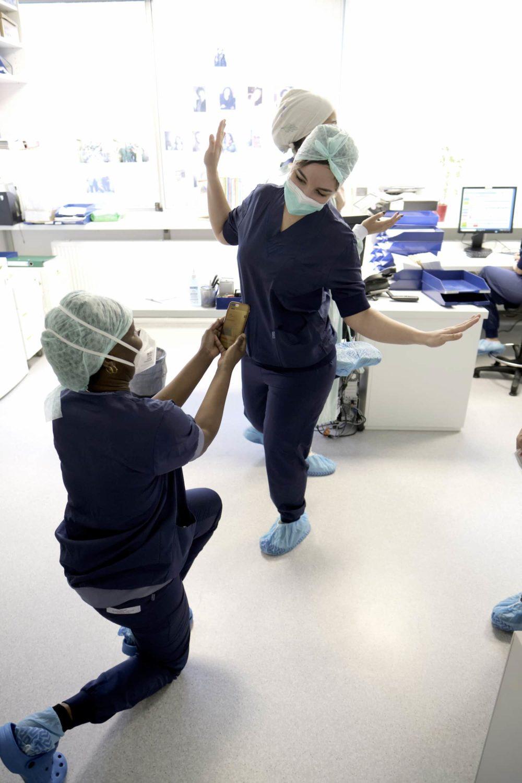 l'amitié entre deux infirmières