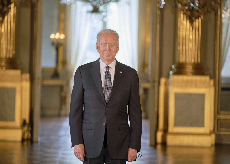 montrer un beau portrait du president americain