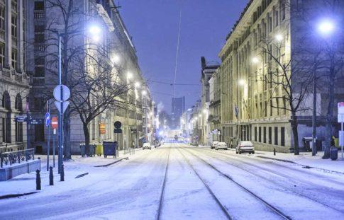 neige bruxelles