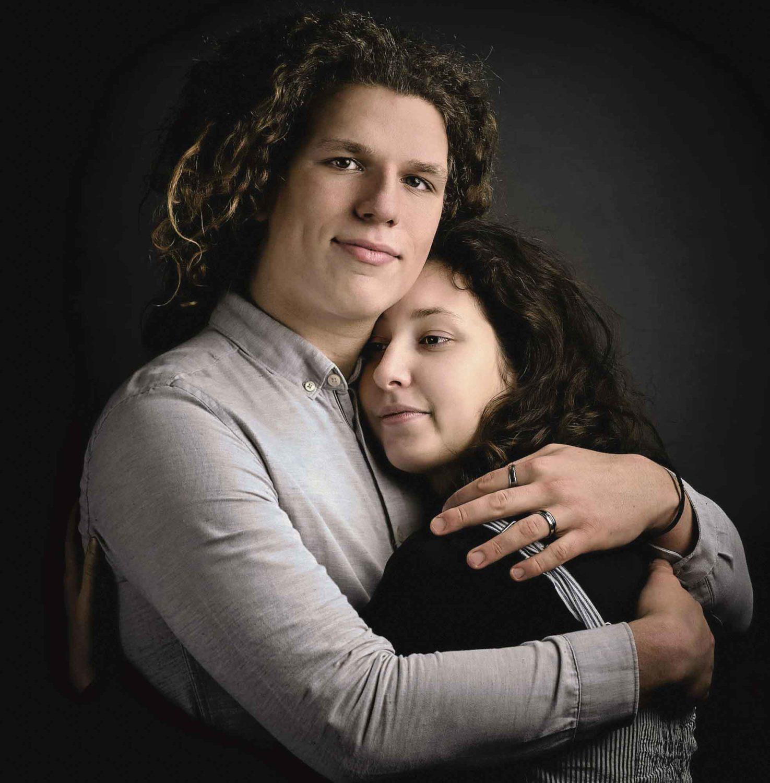 montrer de beaux portraits de couples
