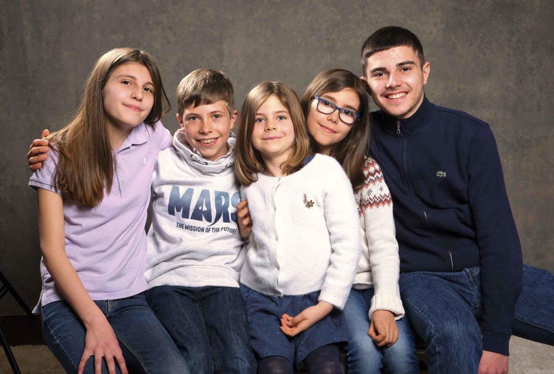 belle photo de famille