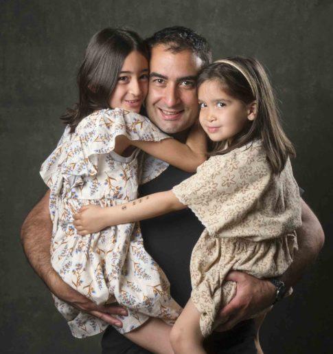 avoir une belle photo avec ses enfants